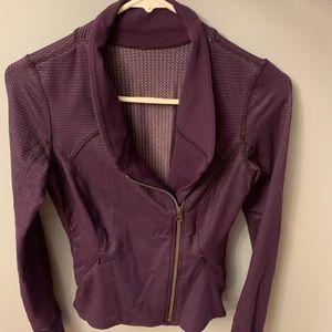 Lululemon shimmery jacket size 4